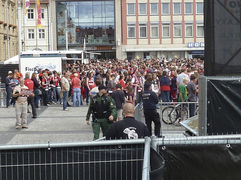 PublicViewing am Maxplatz
