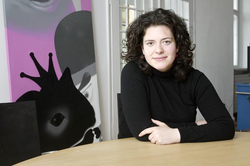 Nora-Eugenie Gomringer. Foto: Tobias Bohm