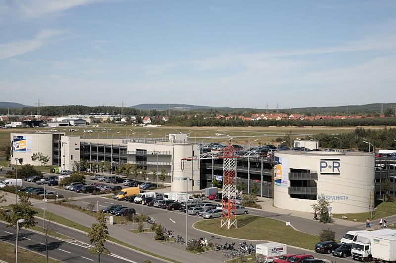 P&R-Anlage Breitenau. Foto: Erich Weiß