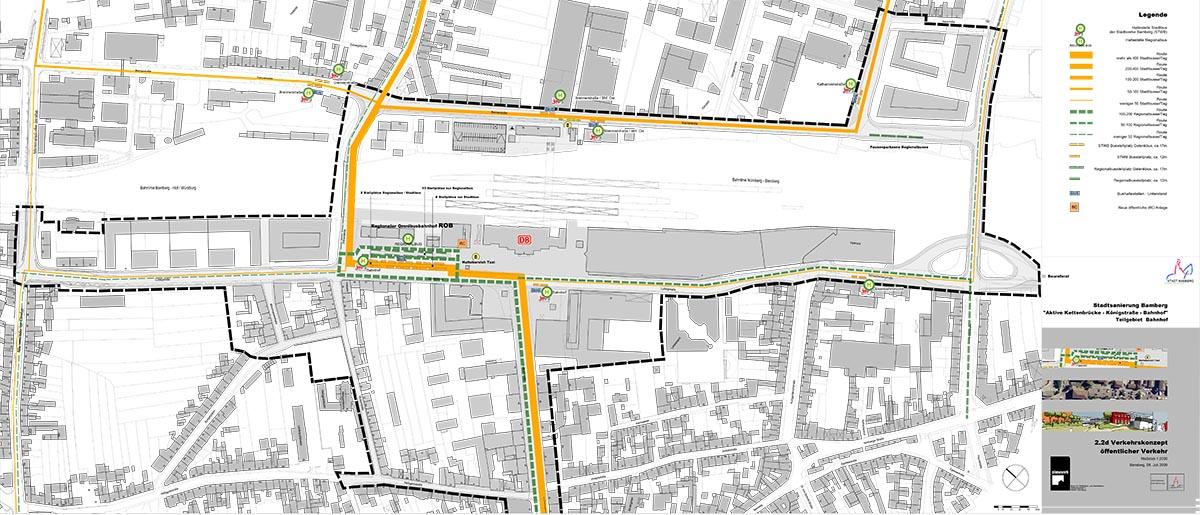 ROB Planentwurf. Plan: Städtisches Bauamt