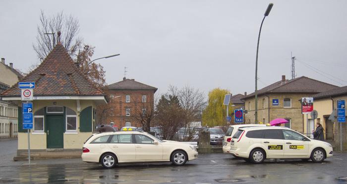 Vorgesehenes Gelände für den ROB am Bahnhof. Foto: Erich Weiß