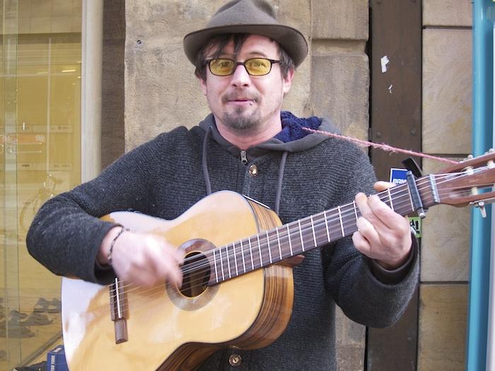 Moritz Rabe am Grünen Markt. Foto: Erich Weiß
