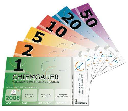 Chiemgauer-Fächer. Foto: Christian Gelleri (CC BY-SA 2.0 DE)