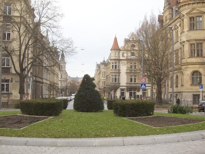 Wilhelmsplatz. Foto: Erich Weiß