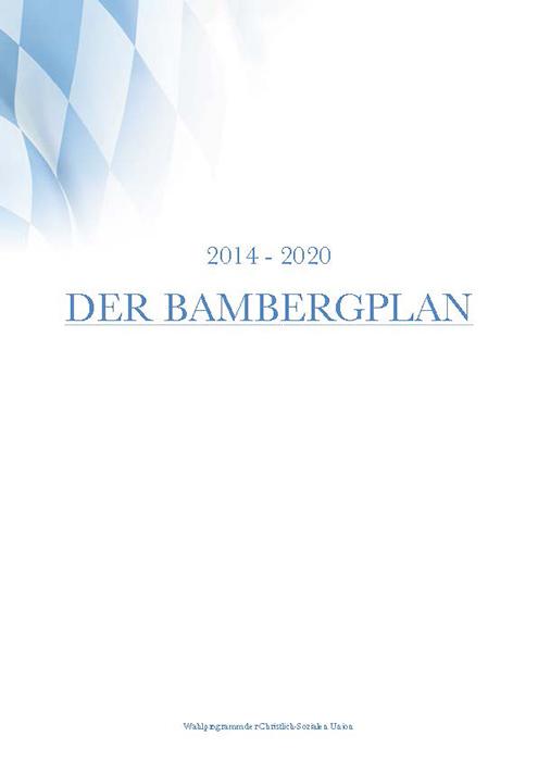 CSU-Bambergplan