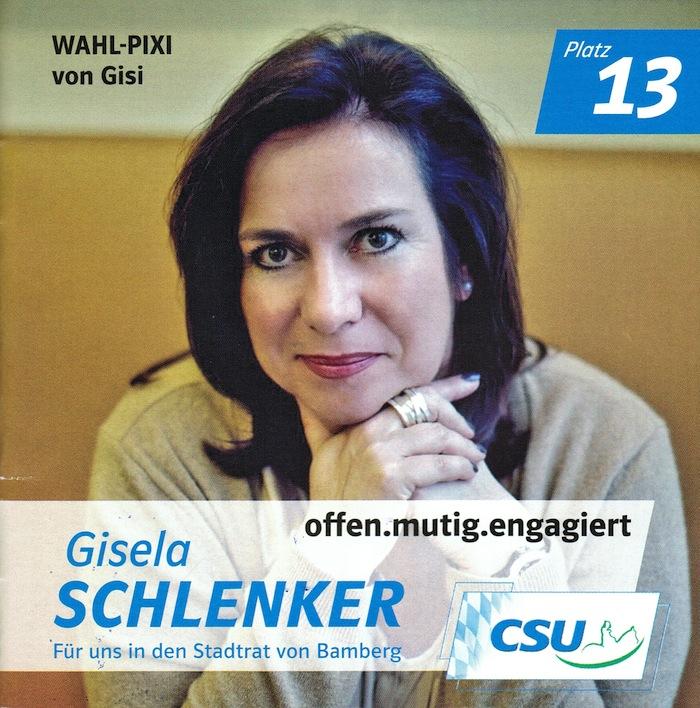CSU-Wahl-Pixi von Gisela Schlenker