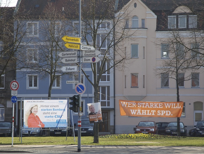 CSU und SPD: alle sind stark. Foto: Erich Weiß