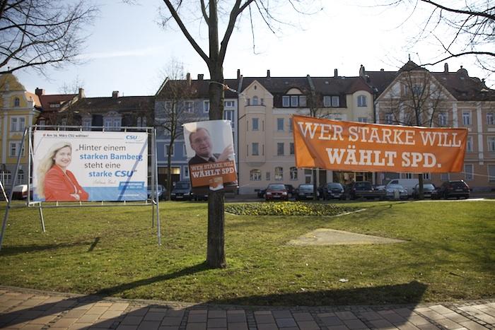 CSU und SPD alle sind stark. Foto: Erich Weiß