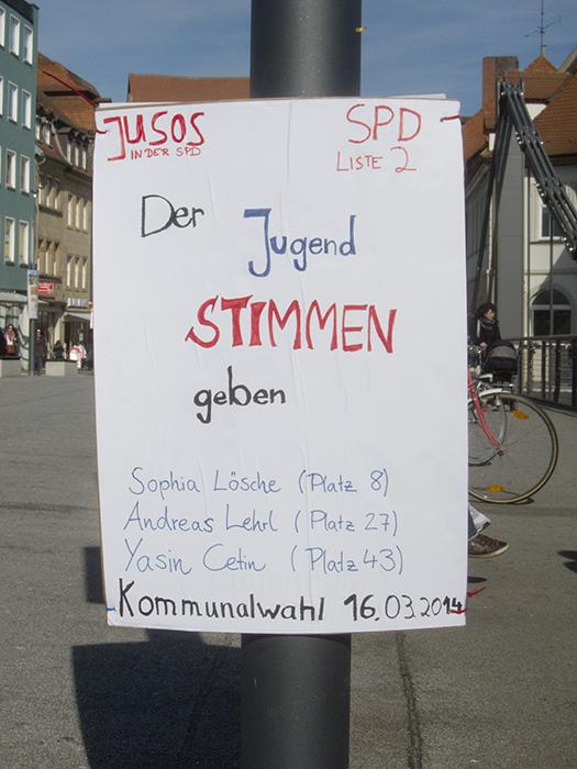 SPD Jusos Jugend. Foto: Erich Weiß