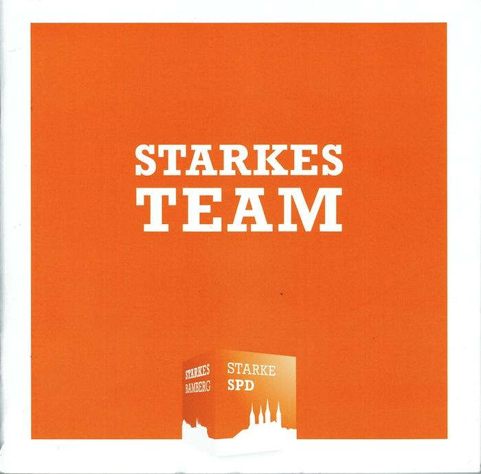 SPD Starkes Team Programm und Kandidaten
