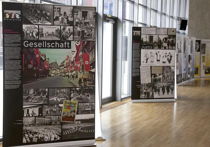 Widerstand in Bamberg (im Theaterfoyer). Foto: Erich Weiß