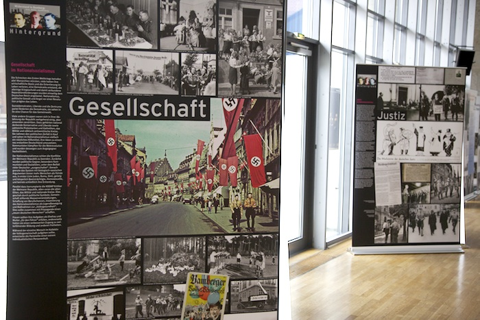 Widerstand in Bamberg (Gesellschaft und Justiz). Foto: Erich Weiß