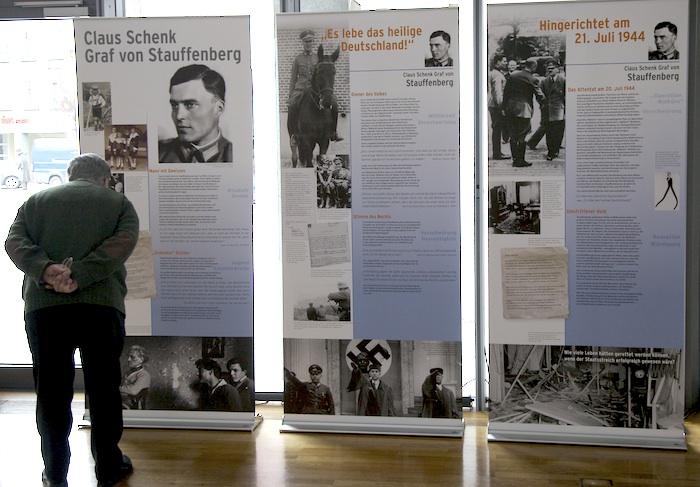 Widerstand in Bamberg (Graf Schenck von Stauffenberg). Foto: Erich Weiß