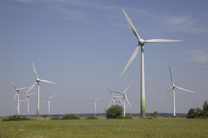 Windpark an der Nordsee. Foto: Erich Weiß