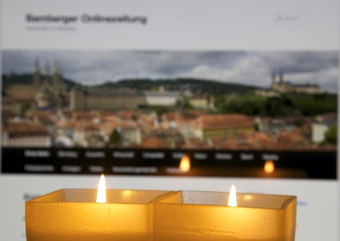 Flammendes Licht. Foto: Erich Weiß
