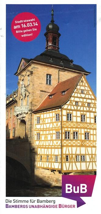 BuB-Die Stimme für Bamberg