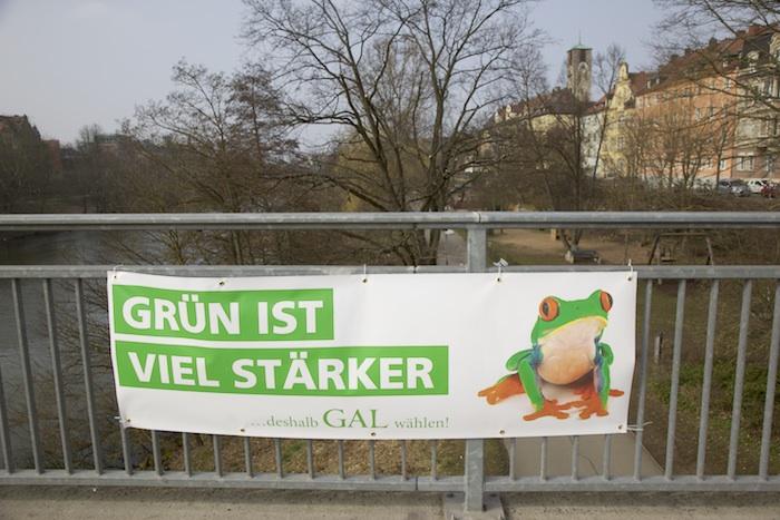 GAL-grün ist viel stärker. Foto: Erich Weiß
