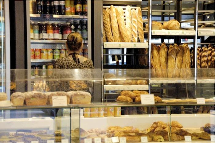 Bäckereiladen. Foto: Monika Schau