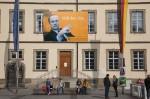 Rathaus. Fotomontage: Erich Weiß