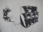 Schall – Graffiti in der Luitpoldstraße. Foto: Erich Weiß