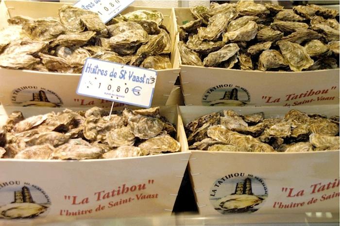 Austern von Saint-Vaast. Foto: Monika Schau