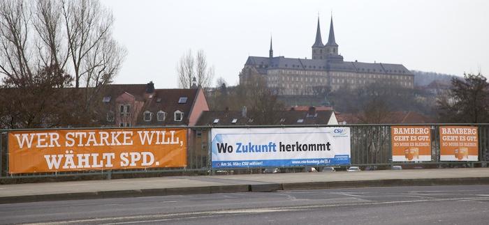 Wahlplakate. Foto: Erich Weiß