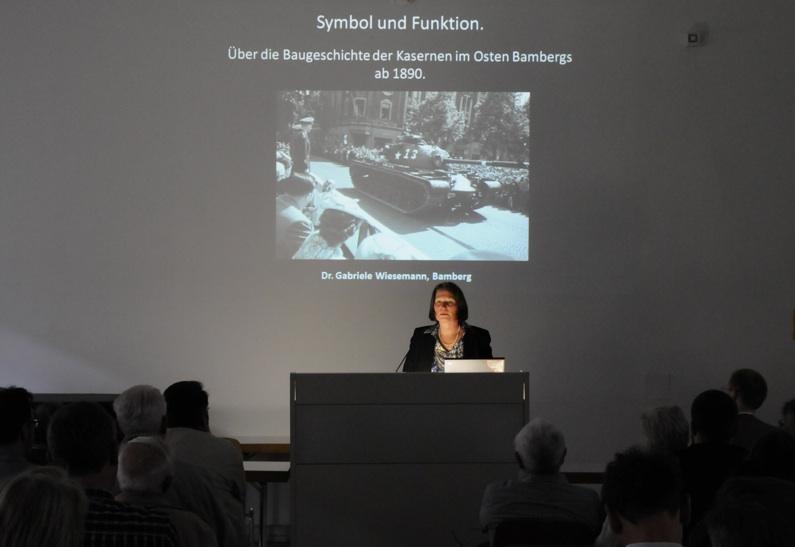 Die Referentin Dr. Gabriele Wiesemann. Foto: A. Schmidtpeter
