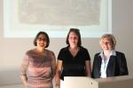 Dr. Ingrid Mayershofer, Dr. Gabriele Wiesemann, Prof. Dr. Sabine Freitag. Foto A. Schmidtpeter