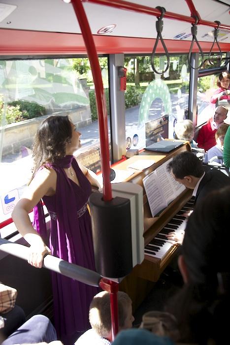 Irina Marinas, Sopran singt Giuditta von Franz Léhar. Foto: Erich Weiß