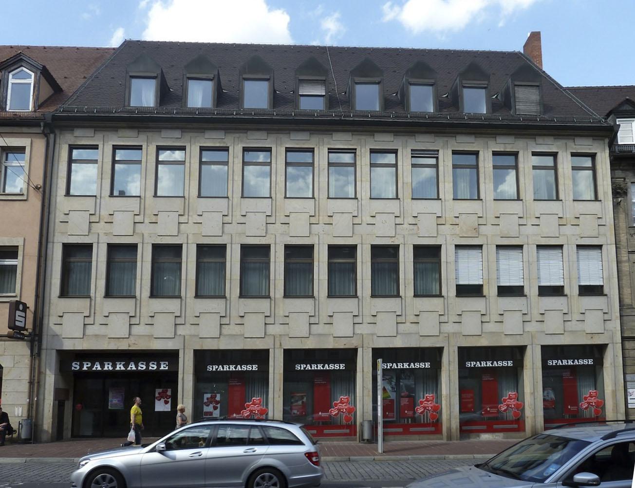 Lange Str., ehemals Sparkasse. Foto: Christiane Hartleitner