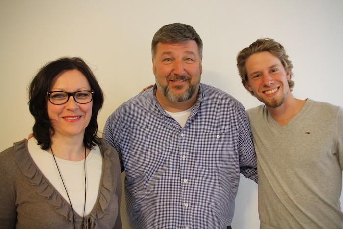 Ingeborg Eichhorn, Klaus Stieringer, Sebastian Niedermaier. Foto: SPD Bamberg
