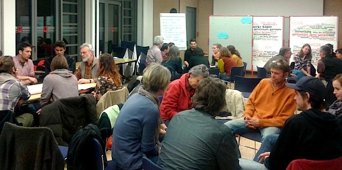 Beim 4. Treffen der Bamberger Transition-Bewegung