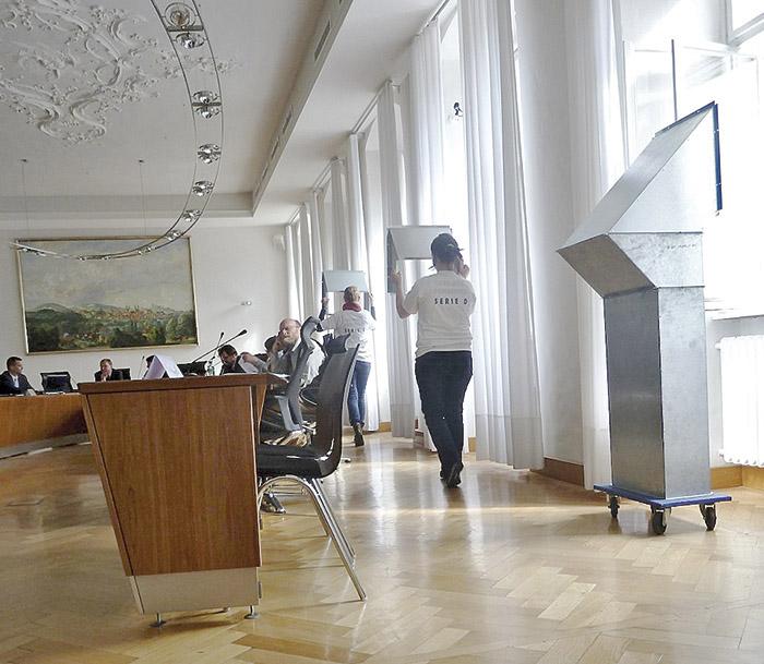 Serie D im Kultursenat. Foto: Christiane Hartleitner