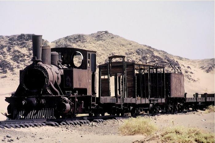 Überreste der Hedjasbahn