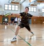 Martin Zhang erspielt einen der Siegpunkte zum Aufstieg. Foto: Moritz Cammertoni
