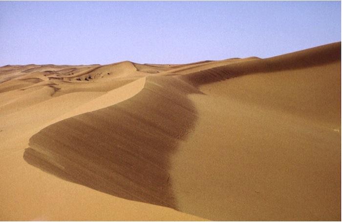 Sanddünen in der Rhub al Khali (leeres Viertel)