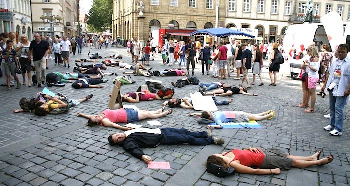 flashmob TTIP