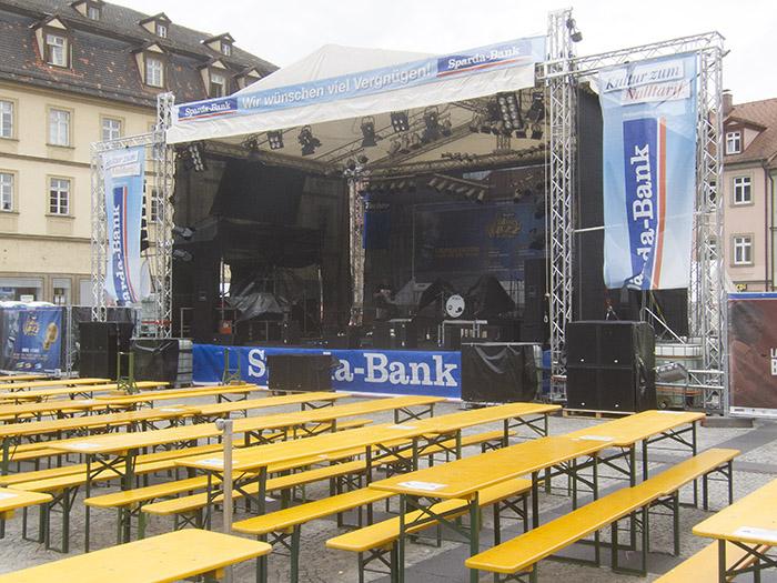 Sparda-Bühne. Foto: Erich Weiß