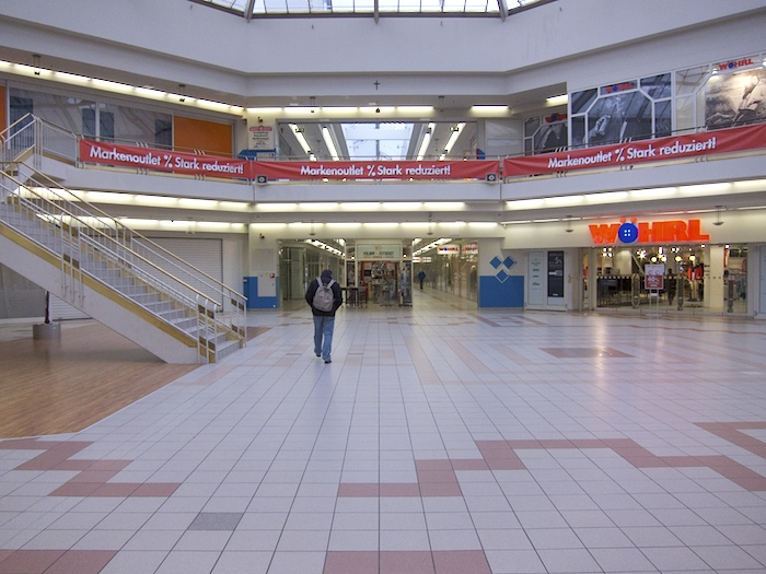 Atrium im Februar 2013. Foto: Erich Weiß