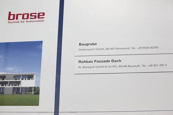 brose – der Rohbau. Foto: Erich Weiß