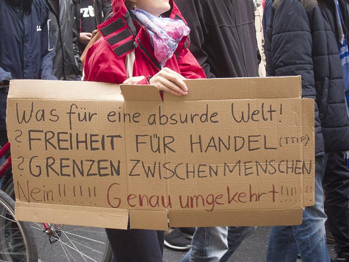 Absurde Welt. Foto: Erich Weiß