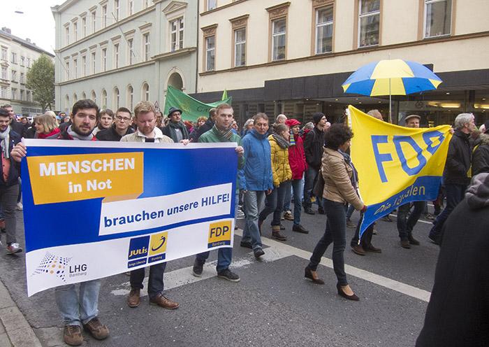 FDP bezieht eindeutig Stellung. Foto: Erich Weiß