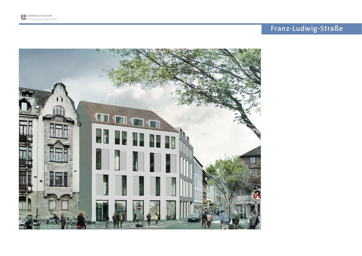 Landholding Fassade Franz-Ludwig-Straße