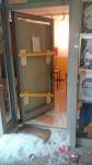 Eingeschlagene Tür des AStA-Büros. Foto: AStA