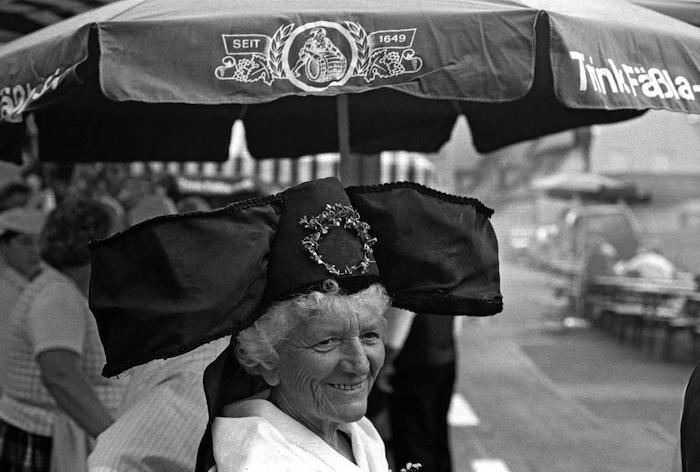 Beim Gärtnerfest in der Mittelstraße. Foto: Erich Weiß