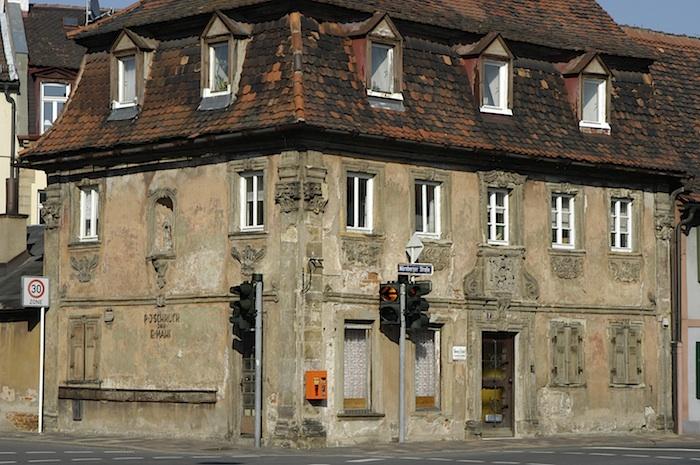 Nürnberger Str. 2 im Jahr 2004. Foto: Erich Weiß