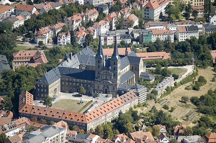 Kloster Michelsberg 2003. Foto: Erich Weiß