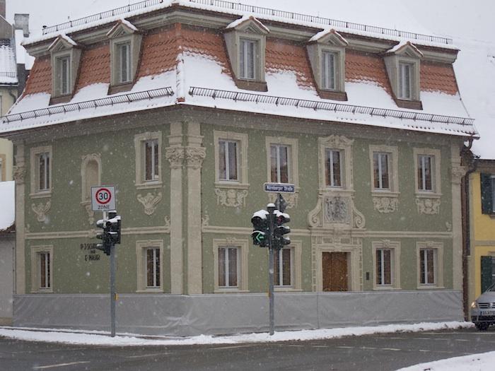 Nürnberger Str. 2 im Dezember 2014. Foto: Erich Weiß