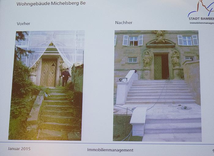 Eingang Kloster - PowerPoint Vortrag vom 21.1.2015