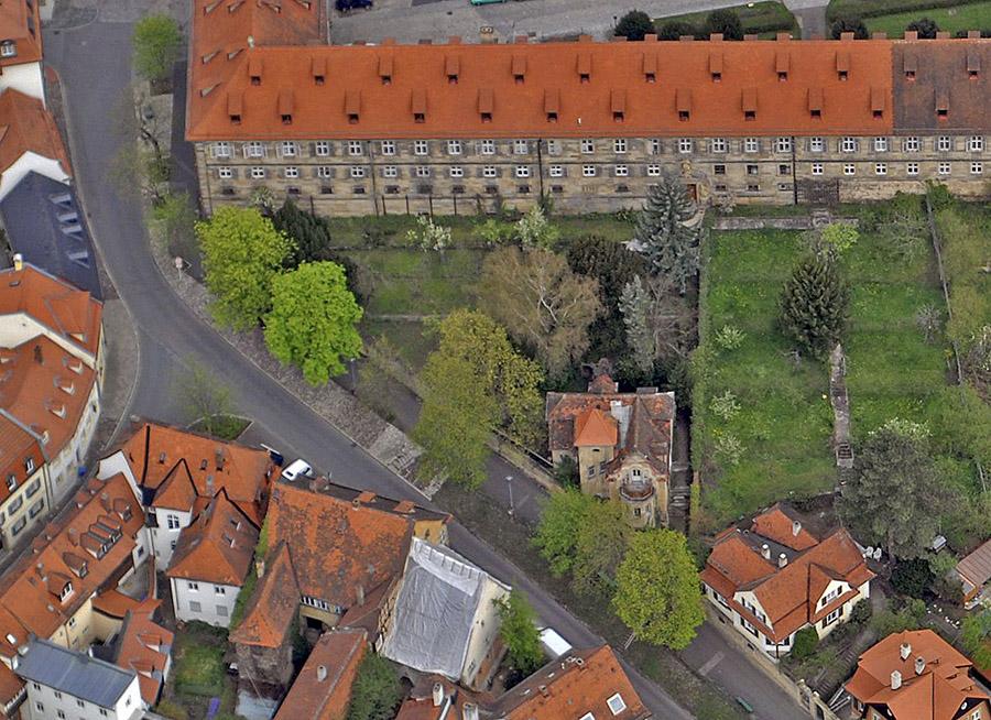 Luftbild von 2008. Foto: Hajo Dietz für das Stadtplanungsamt Bamberg